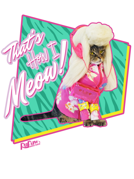 "Trixie Mattel ""That's How I Meow!"" T-Shirt"