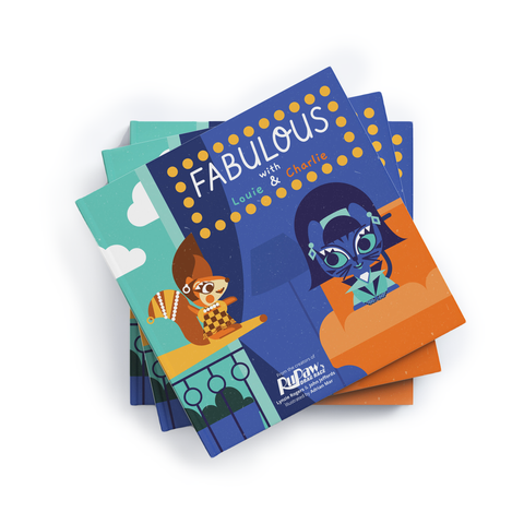 New! RuPaw's Kids Book: Fabulous with Louie & Charlie