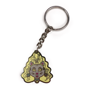 Hey Kitty Girl! Keychain
