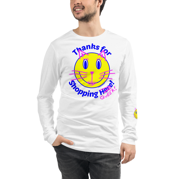 Thanks for Shopping QUEER long sleeve