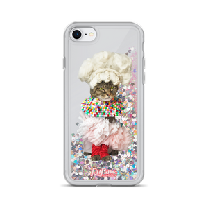 Katya Glitter iPhone Case