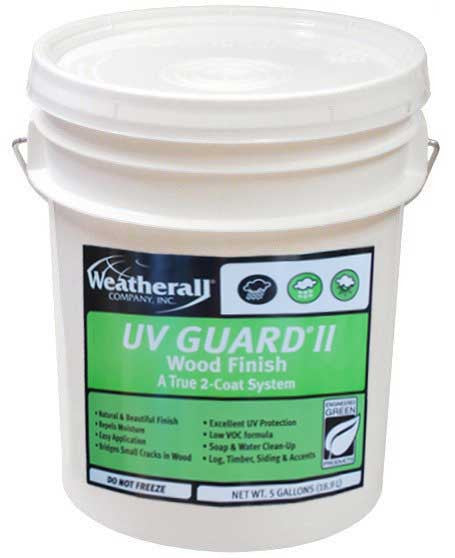 UV Guard II Exterior Wood Finish