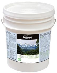 SuSTAIN Exterior Wood Finish