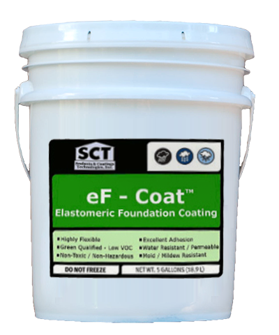 SCT eF-Coat Elastomeric Foundation Coating