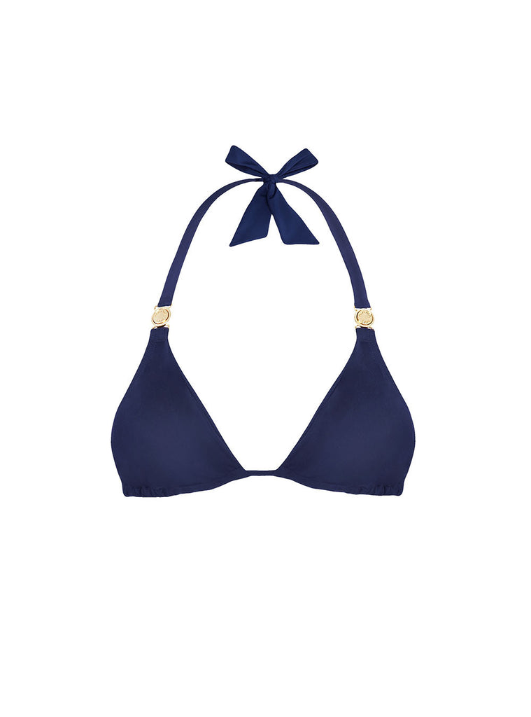 Navy-triangle-bikini-top-gold-clasp-aurora-san-AS-SS17