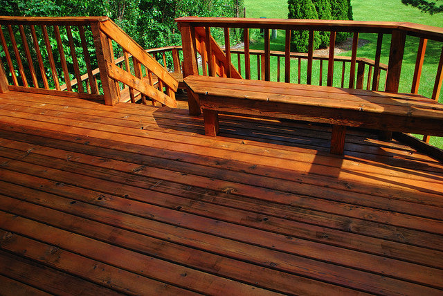 What Is The Longest Lasting Deck Stain Mountain Home Building