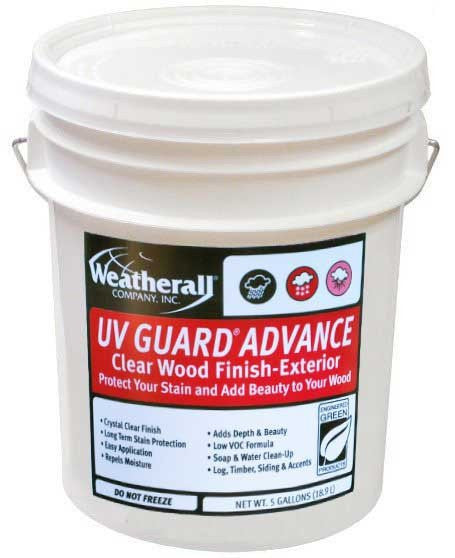 Weatherall UV Guard Advance Clear Wood Finish