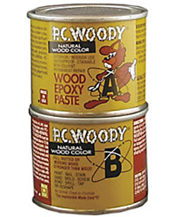 Pc Woody 174 Wood Epoxy Paste 10 Gal And 96oz Free Shipping