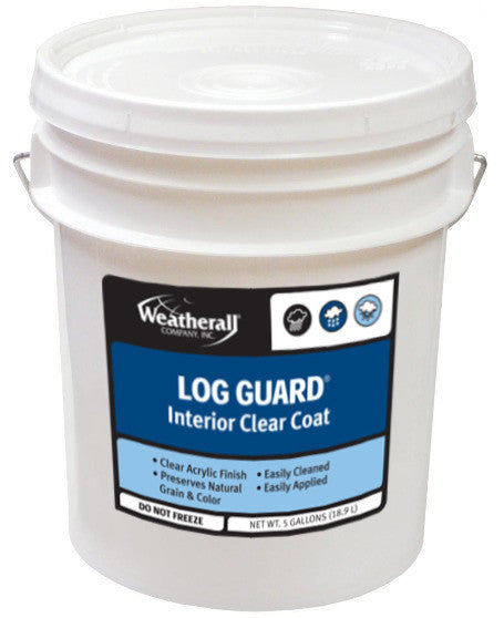 Weatherall Log Guard Interior Clear Coat