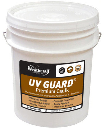weatherall uv guard premium caulk mountain home building products. Black Bedroom Furniture Sets. Home Design Ideas