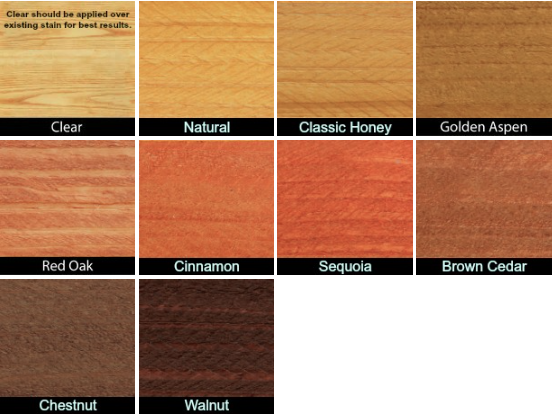 Weatherall Sustain Exterior Wood Stain 9 Colors 5 Gal 1