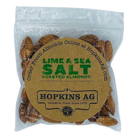 Lime & Sea Salt Almonds 2.5 oz
