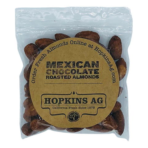 Mexican Chocolate Almonds 2.5 oz