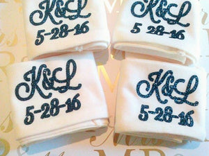 Monogram Headbands, Personalized Bachelorette Headbands-Lettermix Studio