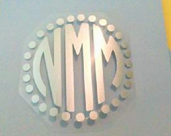 Monogram or Name Iron on-Lettermix Studio