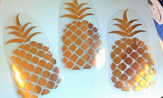 Tiny Pineapple Iron on set, Bachelorette DIY-Lettermix Studio