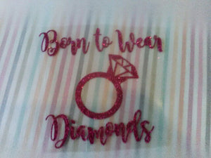 DIY Iron on, Glitter Heat transfer vinyl-Lettermix Studio