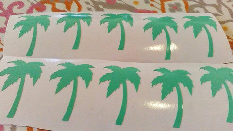 Palm Tree Stickers, Palm Tree Decorations-Lettermix Studio