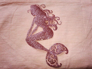 Iron on Mermaid, DIY Craft Project-Lettermix Studio