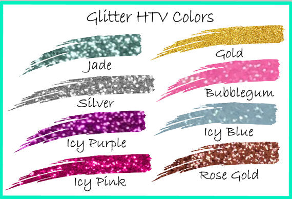 Glitter Iron on monogram, Heat transfer vinyl iron on-Lettermix Studio