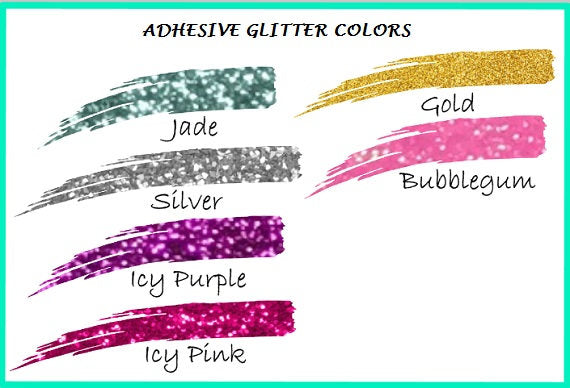 Sparkle Mermaid decal, Teal Glitter Mermaid-Lettermix Studio