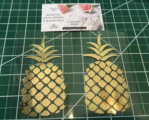 Pineapple Iron on, Bachelorette DIY-Lettermix Studio