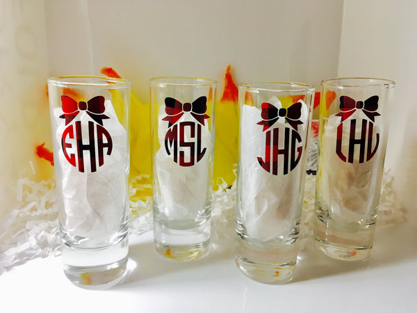 Bridesmaid Shot Glasses-Lettermix Studio