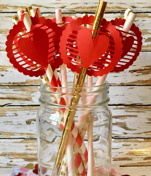 Valentine decor, Red-Lettermix Studio