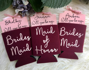 Maid of Honor proposal gift idea