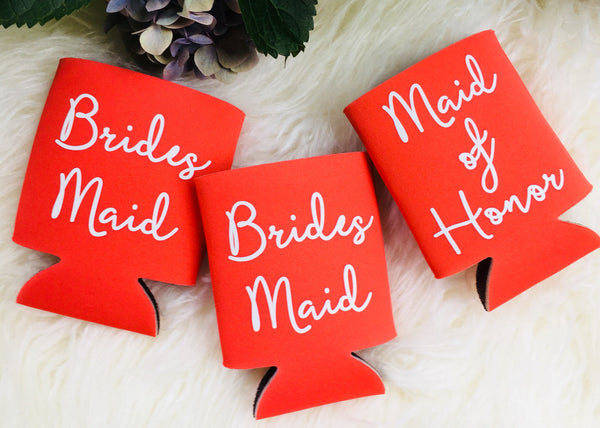 Personalized Bridal party invites