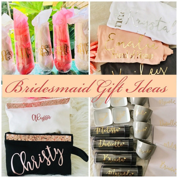 Bridesmaid gift box, Bridesmaid proposal gift