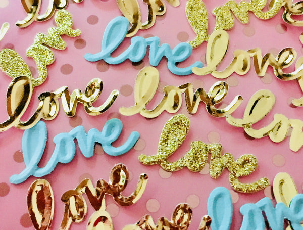 Gold Foil Confetti 100 pieces