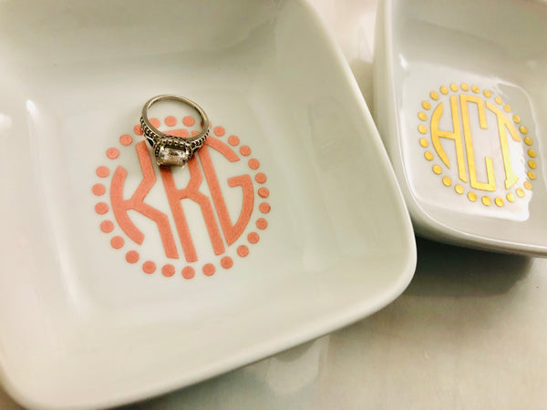 Bridesmaid Proposal gift Ring Dish
