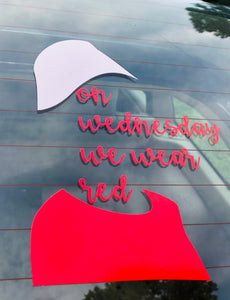 Resistance decal, Handmaid's Tale