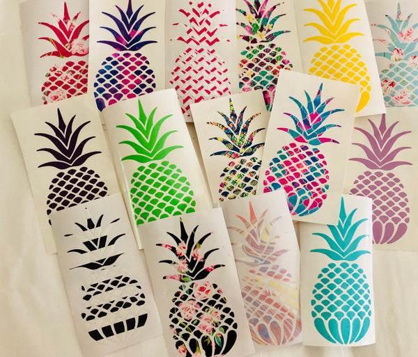 Tropical Pineapple decal