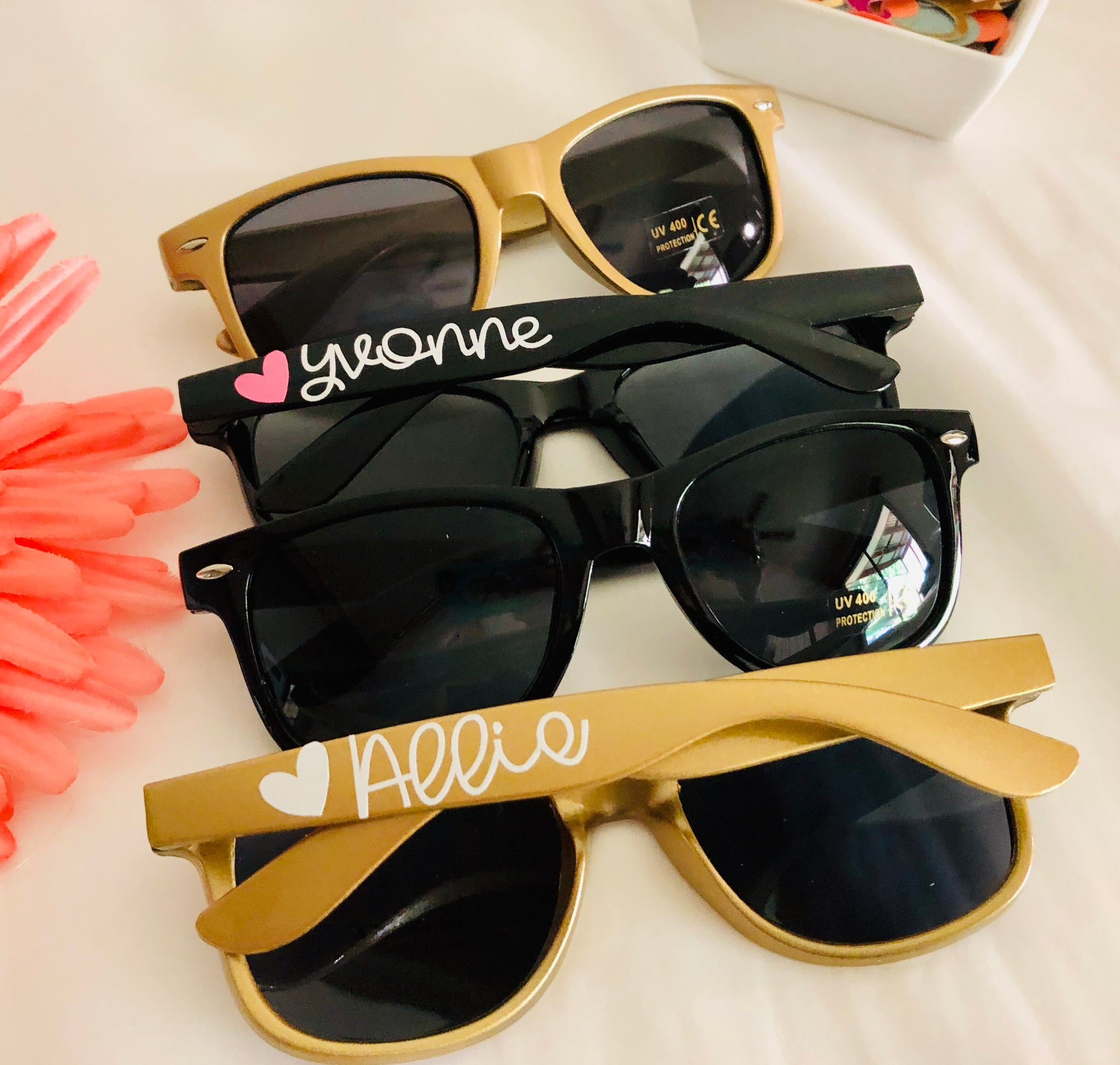 Bridesmaid Sunglasses Personalized