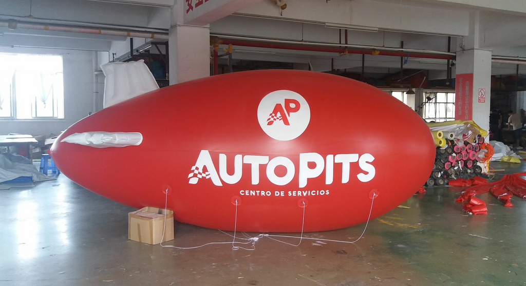 5M blimp for advertising: