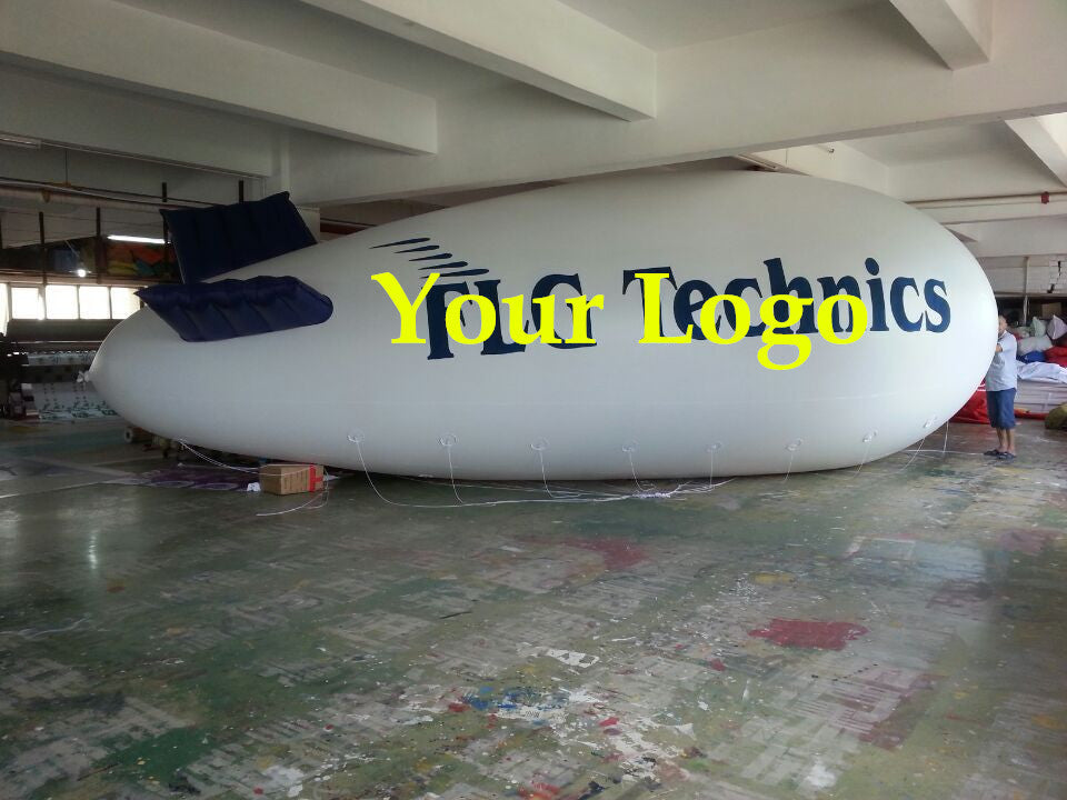 8M 26' ft Inflatable Advertising Blimp /Promotional Flying Balloon w Your Logo