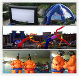 52' 16M Inflatable Promotion Advertising Events Igloo Double Domes Free Logo Print; NO Blower