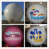 Air-Ads 8FT (2.5 Meter) Inflatable Hot Air Balloon Replica; Holiday Helium Balloons; Free Logo