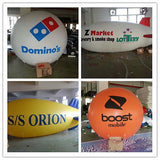 6.5ft 2m Inflatable Advertising Round Balloon/Flying Promotion Balloons; Free Logo Print
