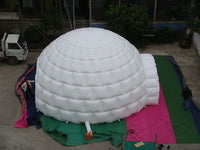 29.5ft 9M Inflatable Promotion Advertising Events Igloo Dome Tent 0.4 PVC; NO Blower