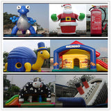 20'ft 6M Inflatable Advertising Promotion Giant Christmas Snow man/Free Motor