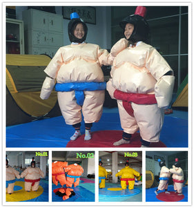 Sumo Suit Wrestling KIDS SET 2 Suits Helmet Glove Floor Mat/3 Color Options