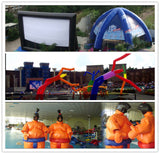 26'ft 8M Inflatable Promotion Advertising Anniversary Celebration Birthday Cake; NO Blower