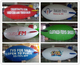 Air-Ads 29ft (9M) Giant Inflatable Advertising Blimp /Flying Helium Balloon/Your Logo
