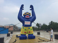 25ft (7.6M) Inflatable Advertising Giant Inflatable Gorilla for Promotion; NO Blower