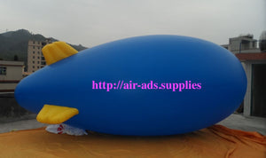 SALE 5M 16ft Giant Inflatable Advertising Blimp /Flying Helium Balloon/Free Logo