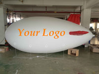 18 Foot Inflatable Advertising Blimps /Flying Giant Helium Airplane /Free Logo