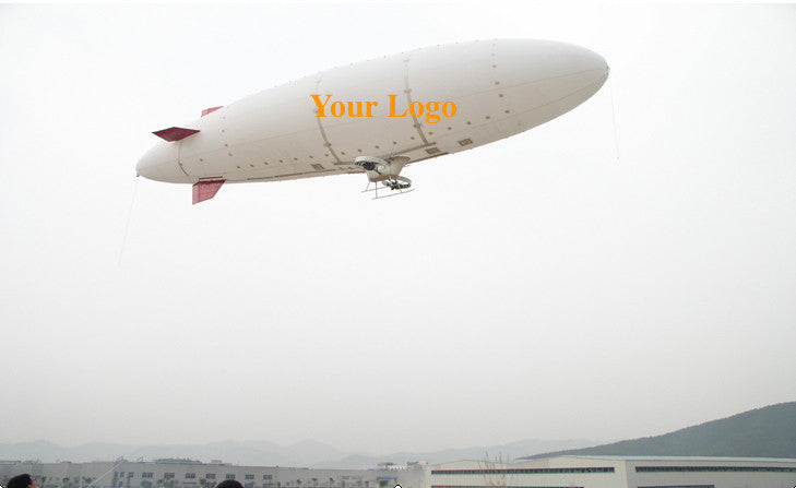 Air-Ads 6M (20 ft) RC Zeppelin Outdoor Radio Control Blimp Advertising eBlimp airship (TPU+Nylon) /2 days on site training On Request (TPU+Nylon)
